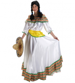 DISFRAZ MEXICANA LUJO