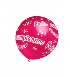 Globo Feliz Cumpleaños (5uds)