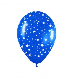Globo Estrellas Colores Surtidos (5 Uds)
