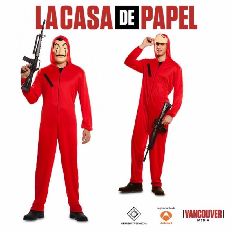 DISFRAZ LADRON CASA DE PAPEL