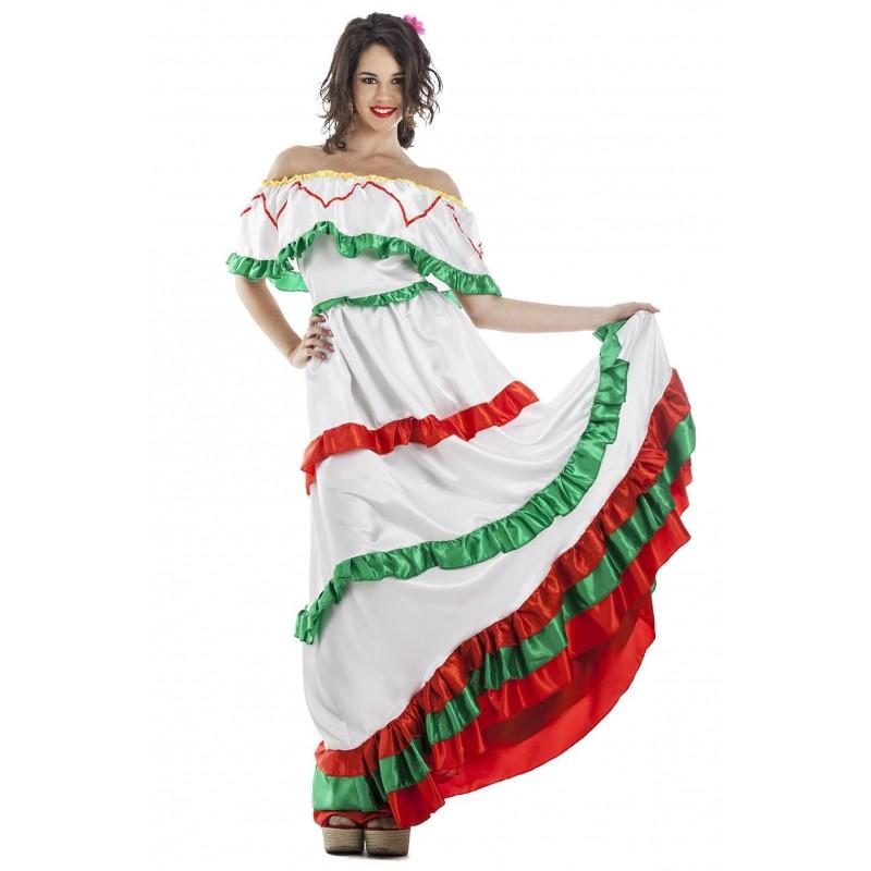 DISFRAZ MEXICANA ADULTO