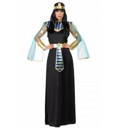 DISFRAZ DE EGIPCIA NEGRA ADULTO