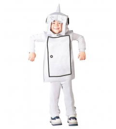 DISFRAZ DE ROBOT HOMBRE HOJALATA INFANTIL