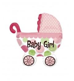 Globo Carrito Bebé Foil Babyshower