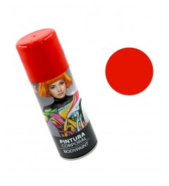 Body Paint Spray Rojo (200 ml)